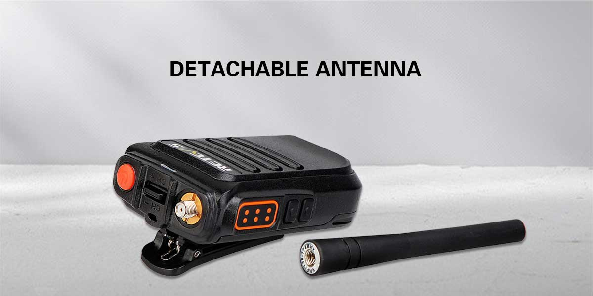 Detachable antenna