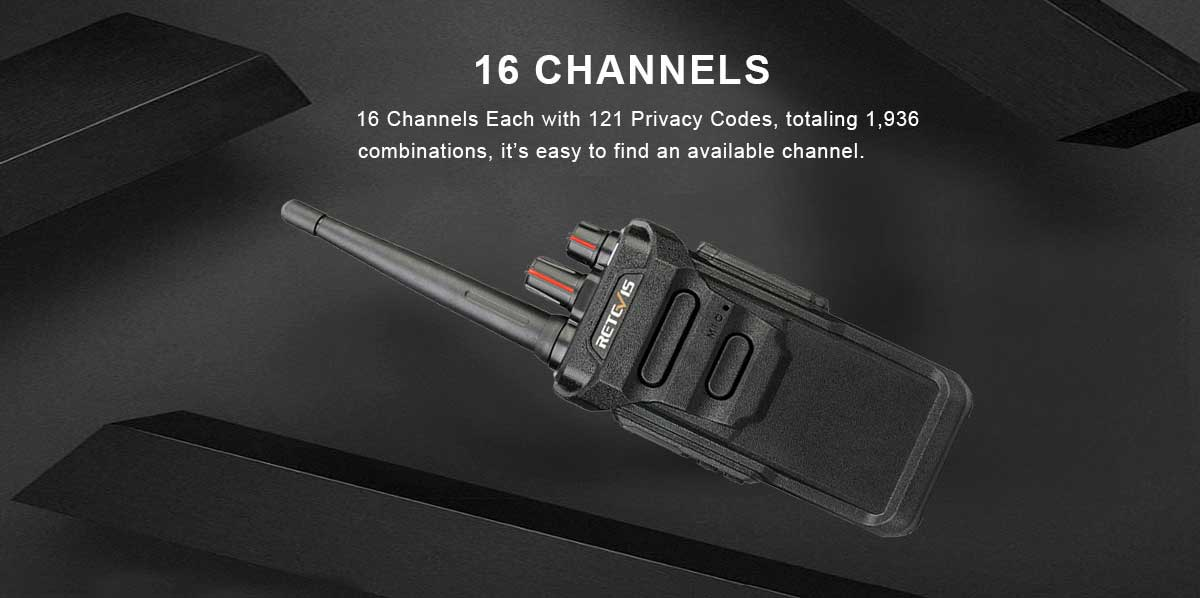 16 Channels