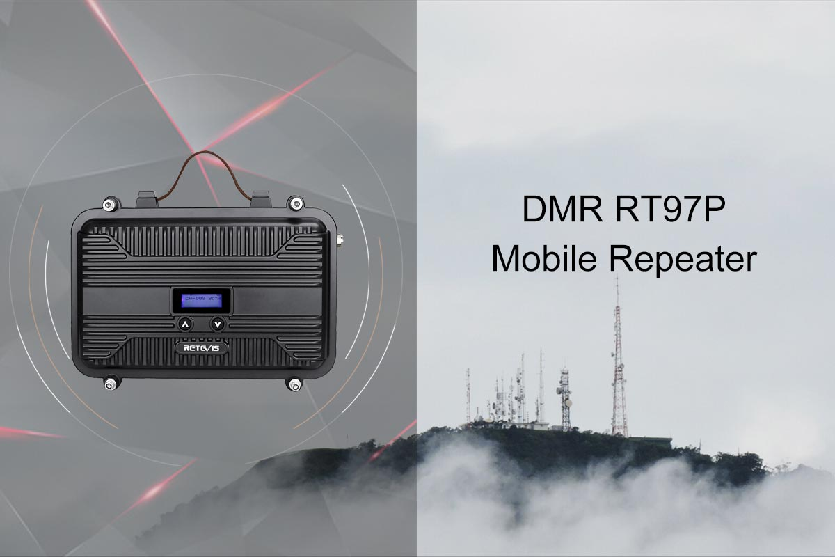 sale RT97P Customizable Full Duplex Mini Portable DMR Repeater