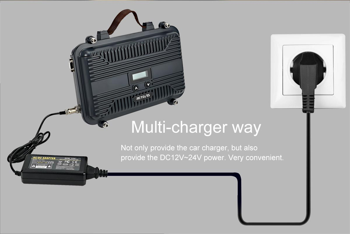 Multi-charger way